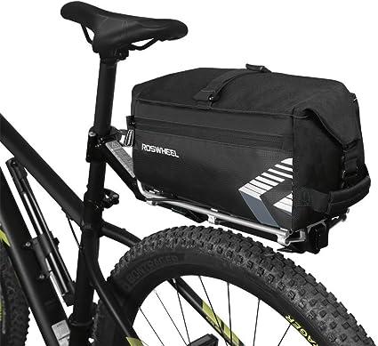 Vélo Bagage Set 3 en 1 Imperméable Haute Qualité Sacs ROSWHEEL Noir UK
