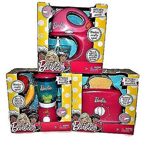 Mattel Kids Barbie Toy Appliance Gift Bundle | 5 items