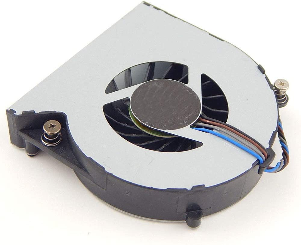 Vaorwne New CPU Cooling Fan Fit 4Pin for Probook 4530S 4535S 4730S 6460B 6465b 8460P 646285-001 646284-00 Laptop 5V