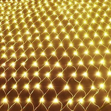 Amazon 5x5ft 120 led net lights indoor string lights party 5x5ft 120 led net lights indoor string lights party christmas xmas wedding home garden decorations 8 aloadofball Choice Image