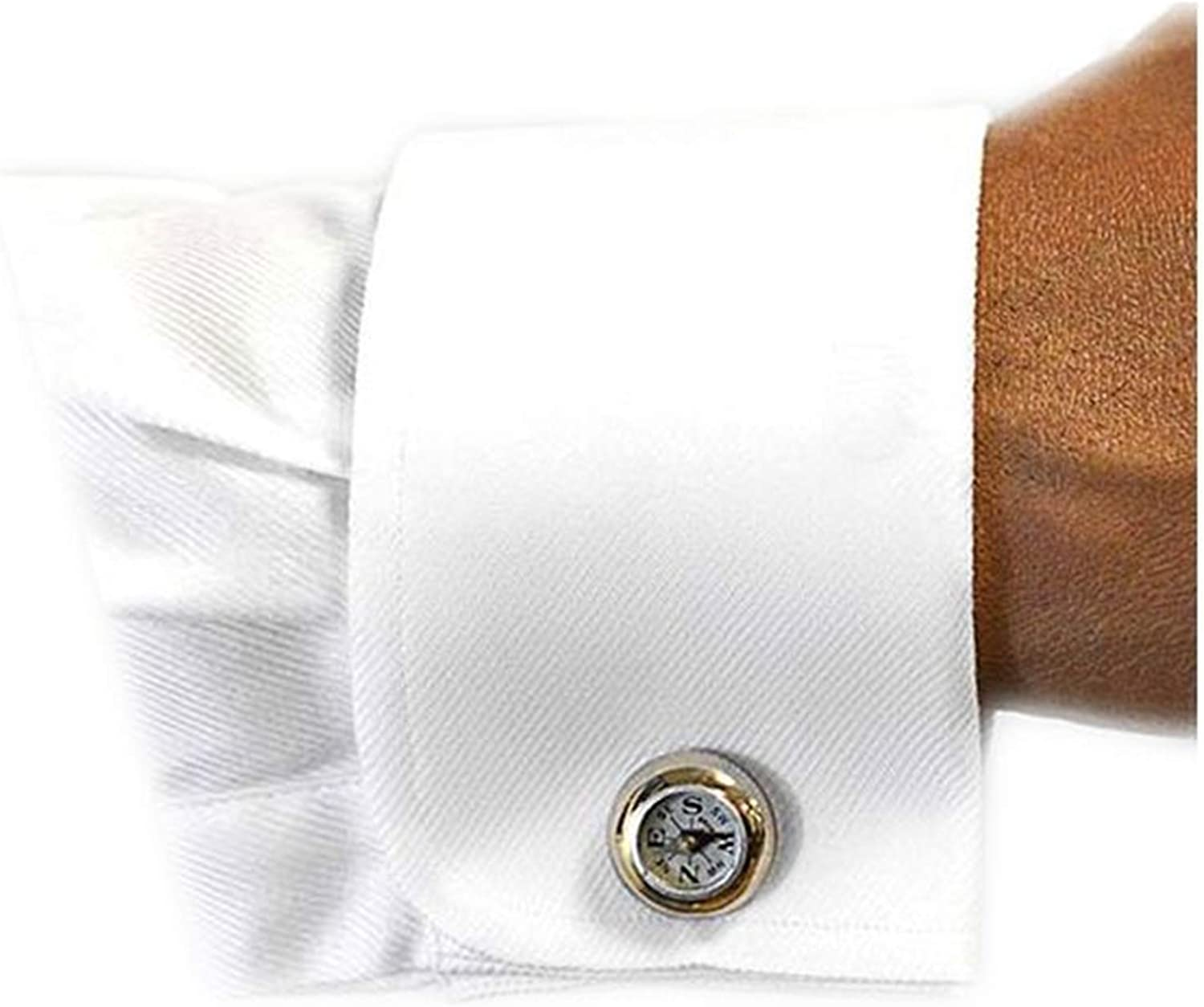 Marquis Platino Mens Textured Slim Fit French Cuff Lay Down Cotton Tuxedo Shirt