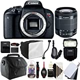 Canon EOS Rebel T7i 24.2MP Digital SLR Camera with 18-55mm EF-IS STM Lens , 430EX lll-RT Flash and Accessory Kit