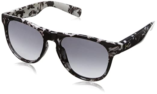 214b2a85770c Under Armour Sierra Shiny White Marble Frame, with Frosted Clear Rubber and  Gray Gradient Lens