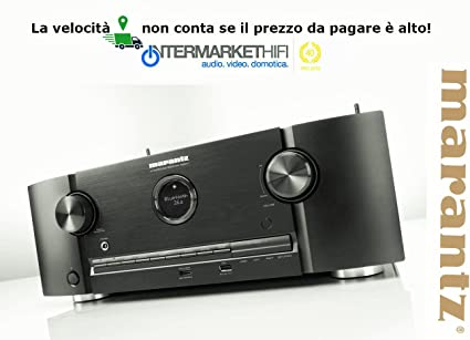 Amplificador Marantz SR 5011 Audio Video 7.2 Channel Network Audio/Video Surround Receiver With Bluetooth
