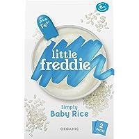 Little Freddie Organic Simply Baby Rice (2 Pack), 160 g