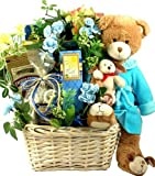Get Well Wishes! Gourmet Get Well Gift with Teddy Bear