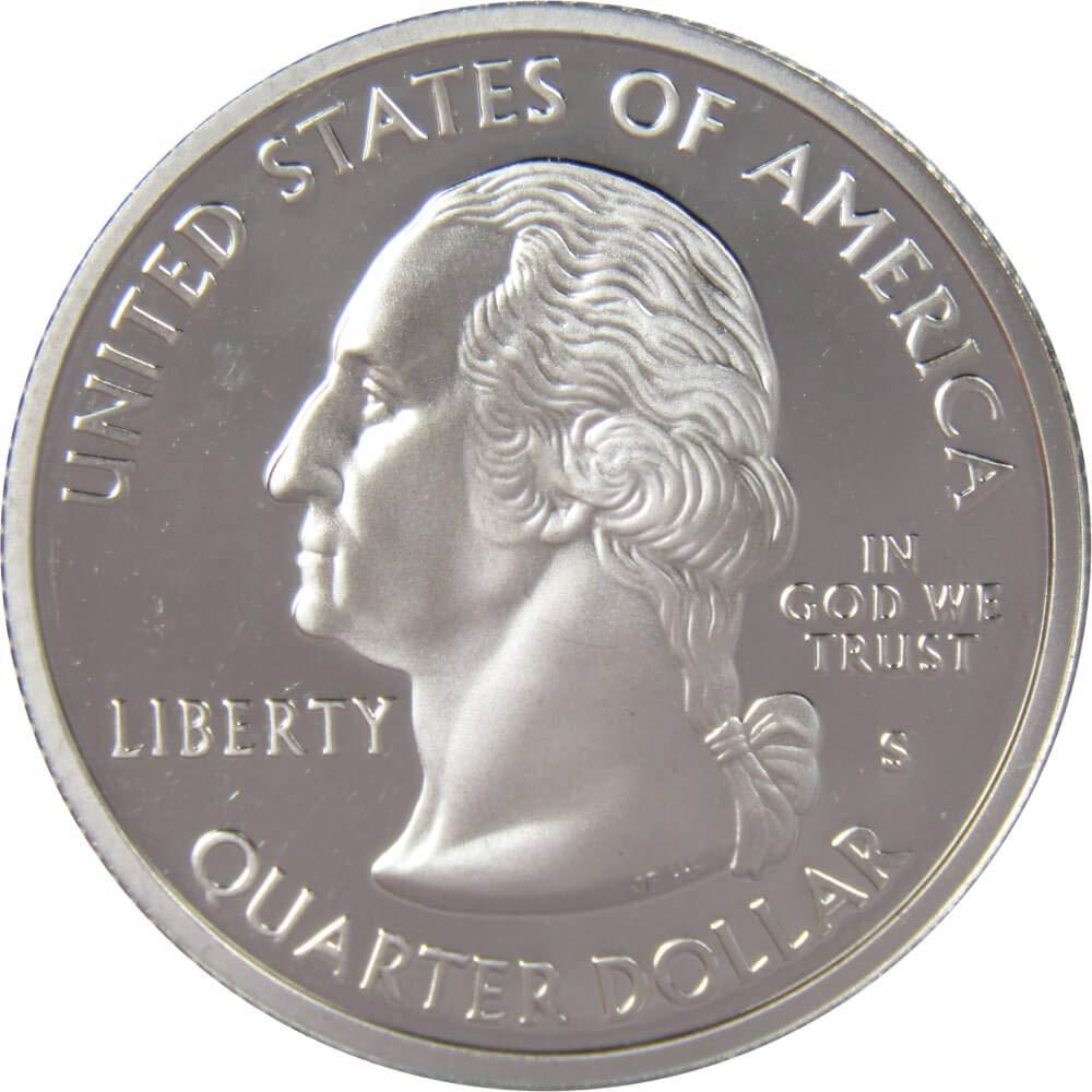 2007 P Wyoming State Quarter BU Brilliant Uncirculated Coin