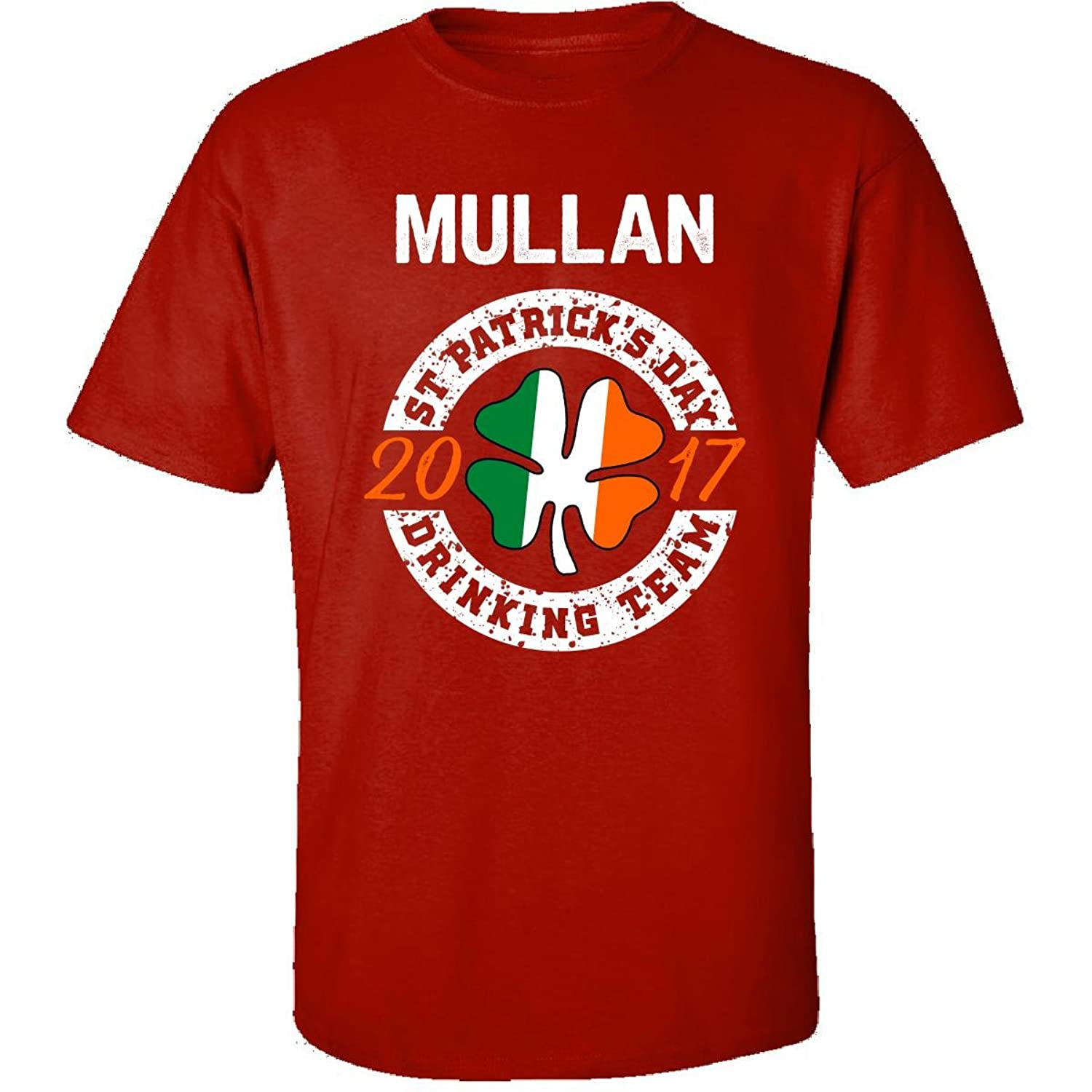 Mullan St Patricks Day 2017 Drinking Team Irish - Adult Shirt