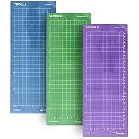 "VERNILLA Cutting mat for Cricut Joy 3 pcs Variety Grip Cutting Mats 12""x4.5"" for Cricut Joy only Replacement Cut Mats…"