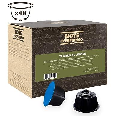 Note DEspresso - Cápsulas de té negro al limón compatibles con ...