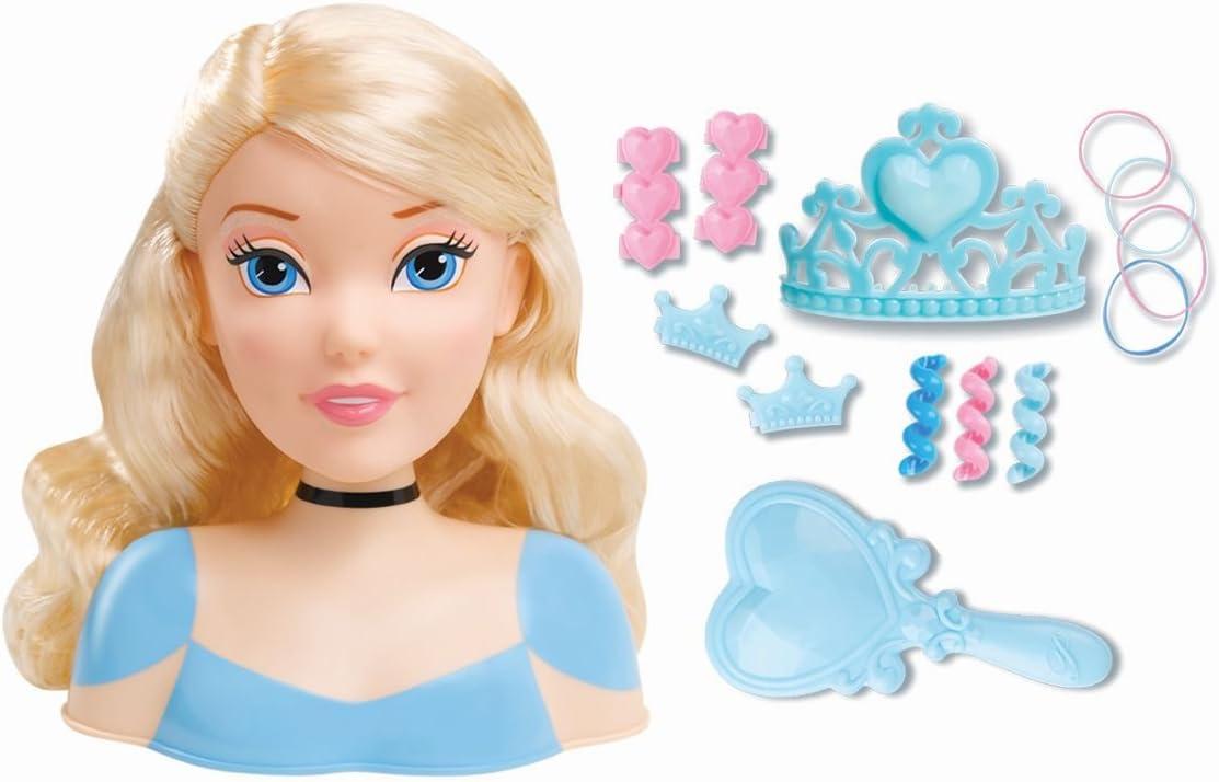 Cinderella Styling Head Barbie Disney Princess Girls Toy