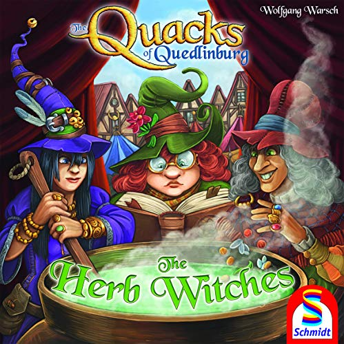Schmidt Spiele Quacks of Quedlinburg: The Herb Witches Expansion Game (Herb Board Game)