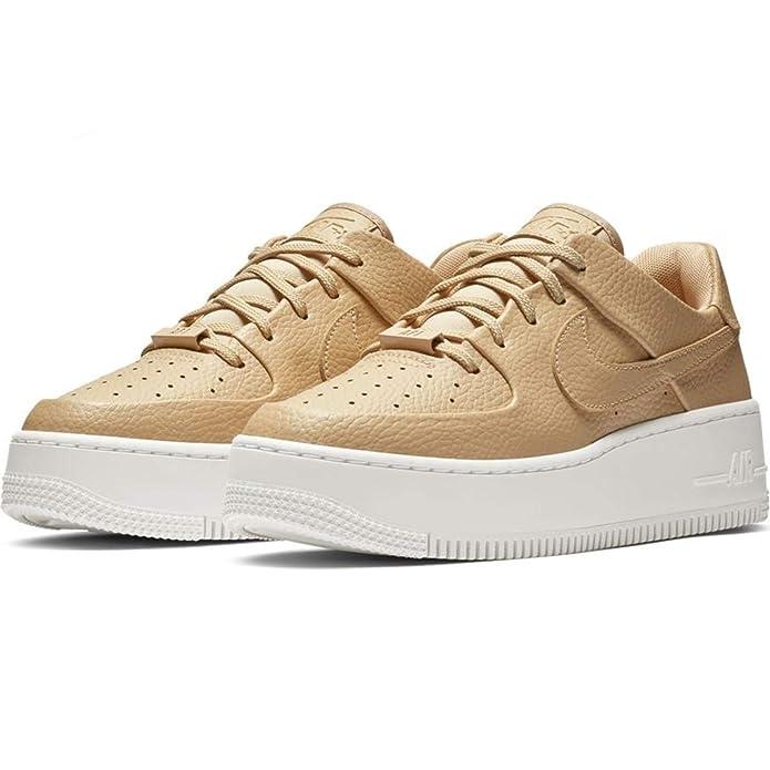 best service b86e2 4b950 Nike W Af1 Sage Low, Chaussures de Basketball Femme  Amazon.fr  Chaussures  et Sacs