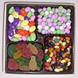 Scott's Cakes Large 4-Pack Pectin Fruit Gels, Assorted Jelly Beans, Jordan Almonds, & Chocolate Dutch Mints