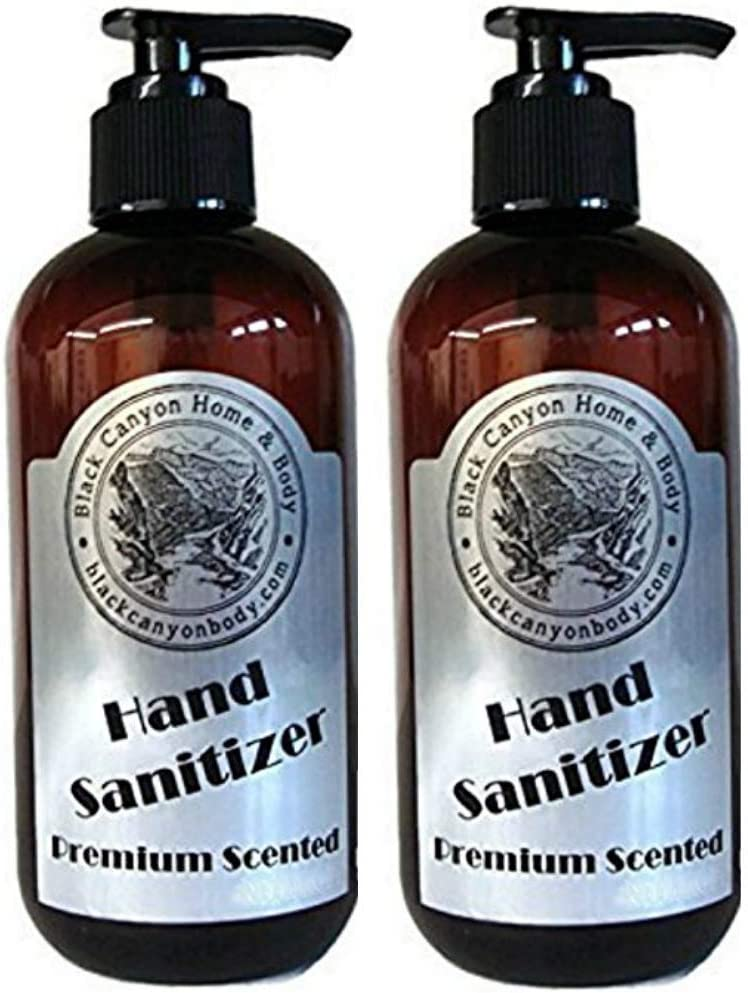 Black Canyon Pumpkin Latte Scented Hand Sanitizer Gel (2 Pack)