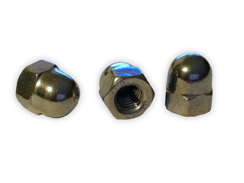 M14 unterschiedliche Mengen //// EHK-Verbindungstechnik M 12 10 St/ück Hutmuttern Ziermuttern DIN 1587 Edelstahl V2A Gr/ö/ßen M3