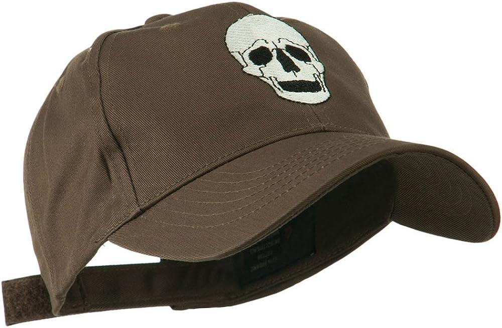 e4Hats.com Halloween Skeleton Skull Embroidered Cap