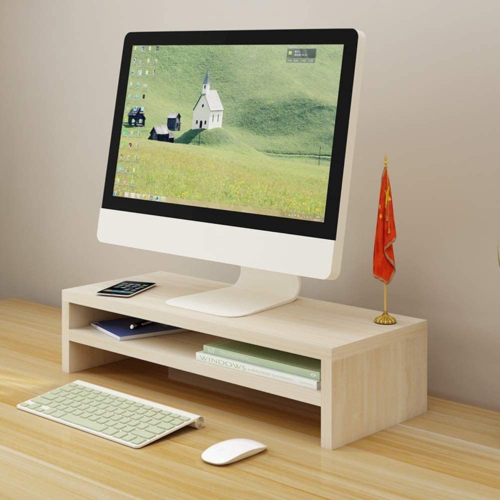 Display Stand Suitable for Home Office Laptop Stand Ergonomics Double Storage