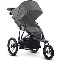 JOOVY Zoom 360 Ultralight Jogging Stroller, Charcoal (849285080693)