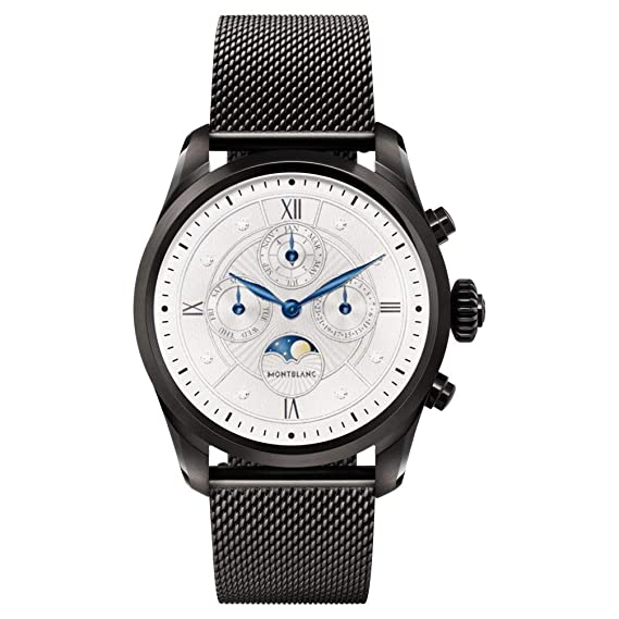 Reloj Montblanc Summit 2 Smartwatch 119723 Negro y Correa ...
