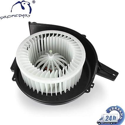 Dromedary 6q1820015 Ventilador Motor Interior ventiladores ventiladores Motor ventilador ventilador calefacción Ventilador: Amazon.es: Coche y moto