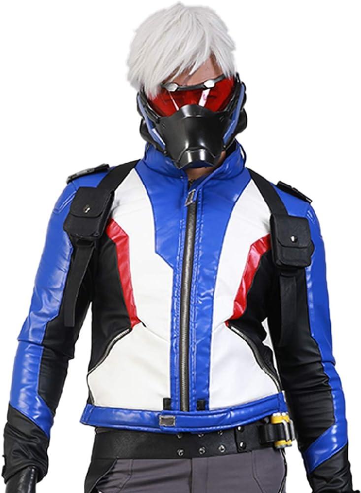 Amazon.com: Disfraz de soldado 76 Chaqueta Coat para Mens ...