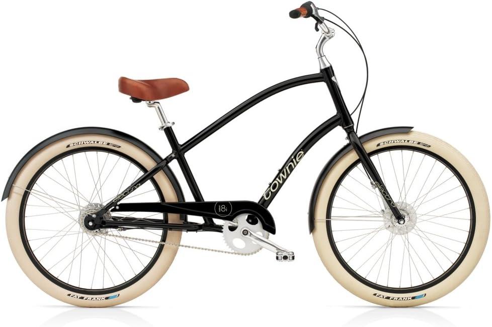 Bicicleta Cruiser Electra Bike Townie Balloon 8i negro para hombre ...