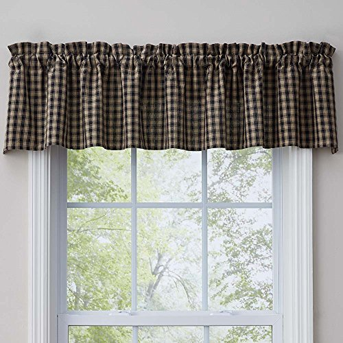 Park Designs Town and Country Black Valance (Best Countries For Blacks)