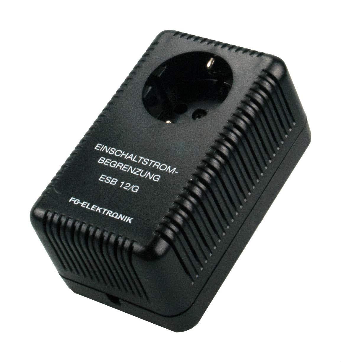 FG-ELEKTRONIK 076302 ESB 12 G Einschaltstrombegrenzer stromgesteuert, im Steckergehäuse, für Verbraucher bis max. 2,8 kW im Steckergehäuse FG-ELEKTRONIK GmbH