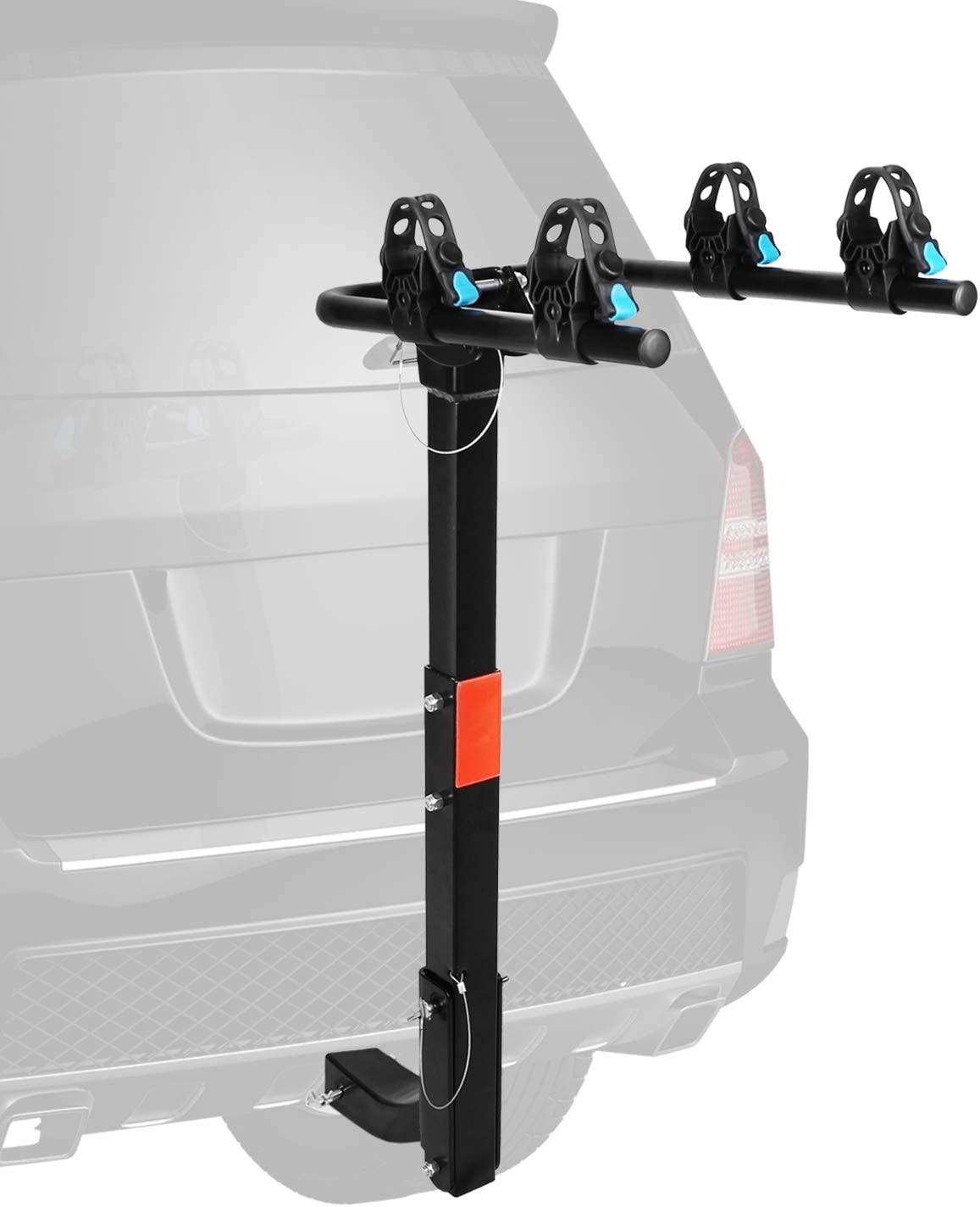 Car Trunk 3 Bike Rack Rear SUV MTB Bicycle Mount Hitch Carrier AUTO Foldable