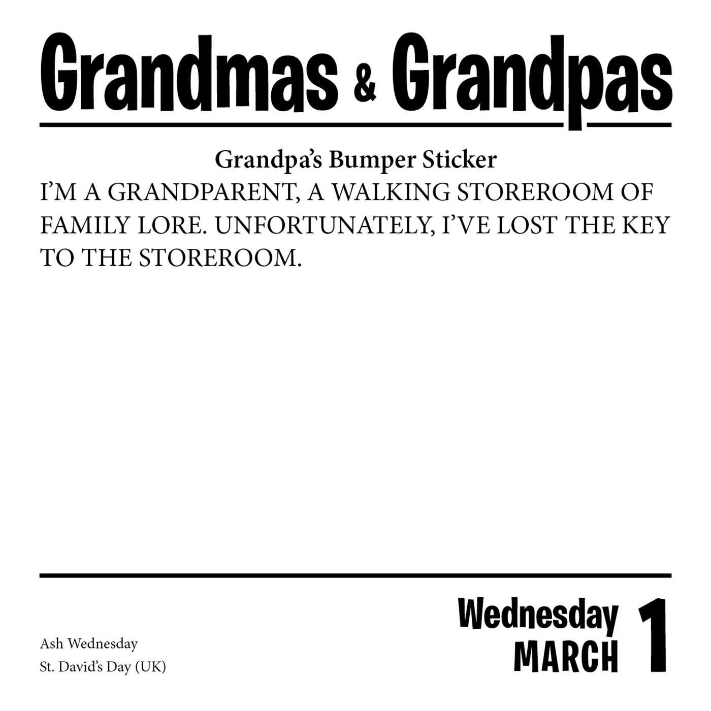 Grandmas grandpas 2017 day to day calendar kathryn zullo allan grandmas grandpas 2017 day to day calendar kathryn zullo allan zullo 9781449476847 amazon books fandeluxe Gallery