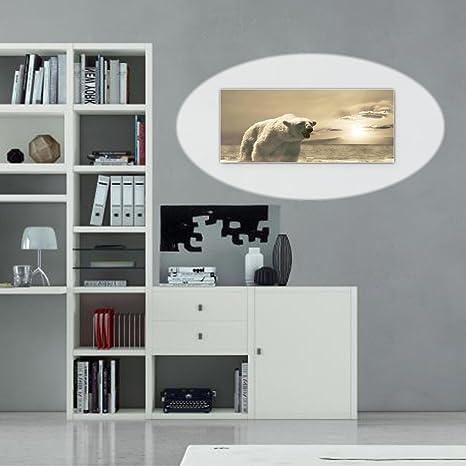 Lavagna magnetica Natura Orso gelato magnetica. Design elegante ...