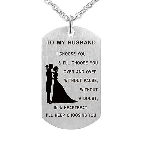Amazon.com: A mi marido I Choose You etiqueta de perro ...