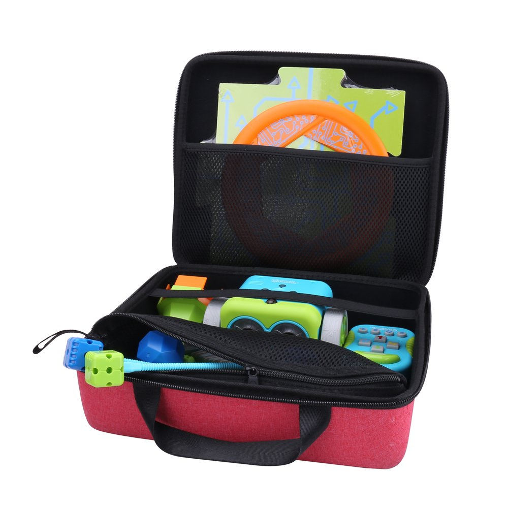 Aenllosi Storage Hard Case for Learning Resources Botley The Coding Robot Activity Set (Red)
