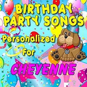 Amazon.com: Happy Birthday to Cheyenne (Cheyane, Cheyann, Cheyanne