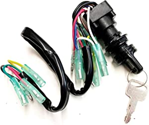 A.A Ignition Main Key Switch Assembly for Yamaha Motor Control Box - 703-82510-42-00, 703-82510-44-00, MP51040, 703-82510-43-00