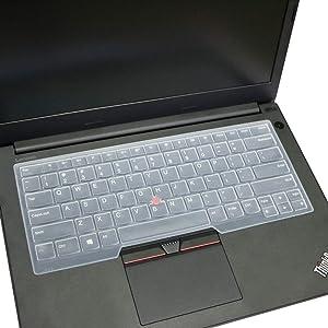 YYubao Clear Silicone Keyboard Skin Cover Compatible with Lenovo Thinkpad S3 E430 E430C E431 E440 E435 E335 E450C E460 E465 X230 S430 L330 L430 L450 L530 T430U T430 T430i T430S T450S T530 W530 Laptop