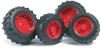Bruder 02322 Doble-rueda para tractores de la Serie 2000 ...