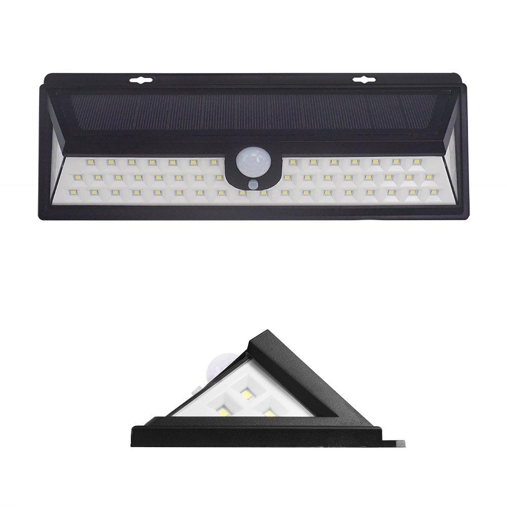54 Movido A Energia Solar LEVOU Luz ao ar livre Lâmpada PIR Sensor de Movimento 3 Modo Waterproof Garden Street Caminho Iluminação Pátio Lâmpada de Parede ...