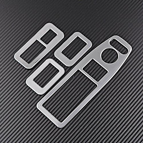 Price comparison product image Set For 2013-2016 Honda Accord Sedan Chrome Door Window Switch Button Panel Cover Trim (4pcs)