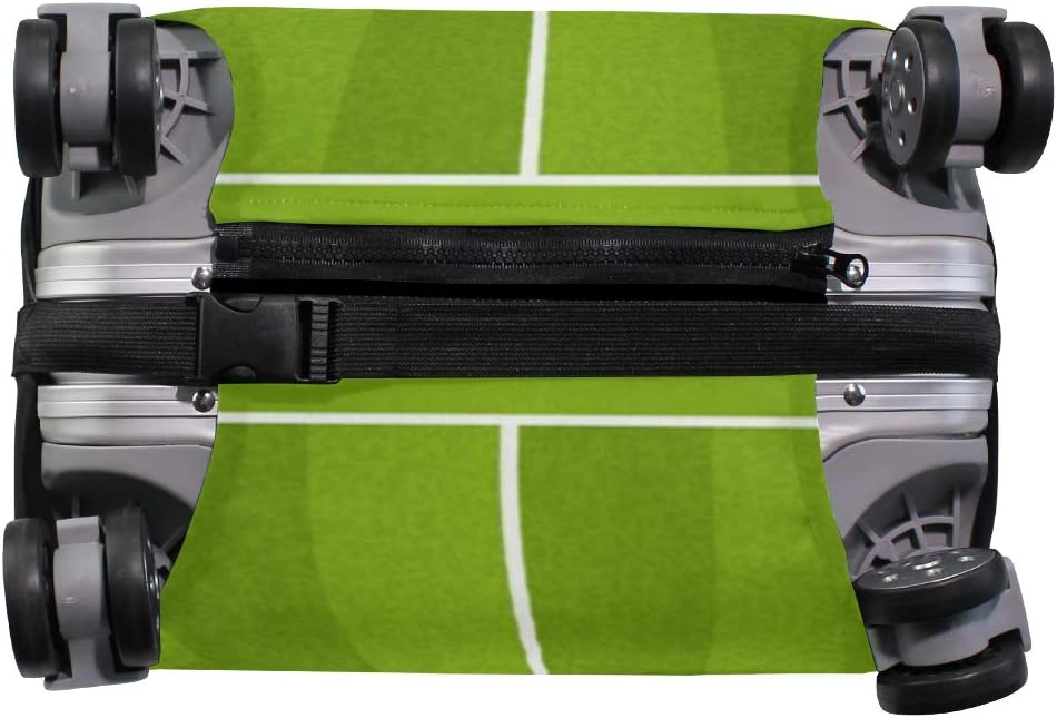 Travel Luggage Cover Grass Football Soccer Field Sports Suitcase Protector