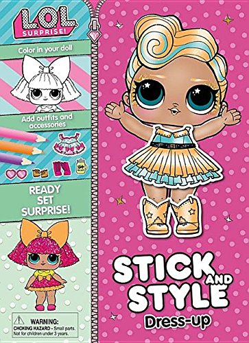 L.o.l. Surprise! Stick and Style Dress-up