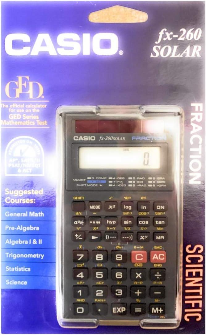 Best casio fx 260 solar calculator 2020