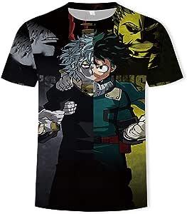 EDMKO - Camiseta de manga corta con estampado 3D My Hero