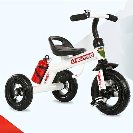 Triciclo de los niños, bicicleta bicicleta carrito de bebé 1-3-4 años