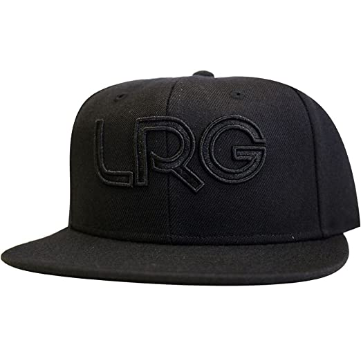 2d3b2bb34d1 Image Unavailable. Image not available for. Color  LRG Snapback Hat Black  Black