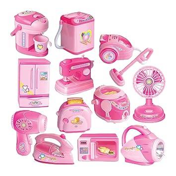B Blesiya 12 Pedazos Juguetes para Electrodomésticos Juguete ...