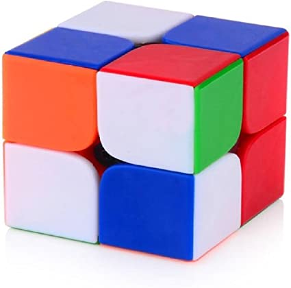 Toy Arena Presents All in one Trendy High Stability 2 by2 Rubiks Cube Speed and Smooth Stickerless Magic Puzzle Rubiks Cube (2x2 Cube)