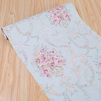 Amazon Com Portugal Floral Contact Paper Shelf Liners