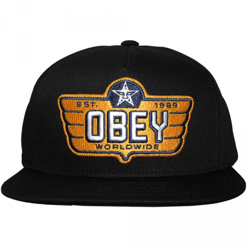 Gorra Obey: Wings Snapback BK: Amazon.es: Ropa y accesorios